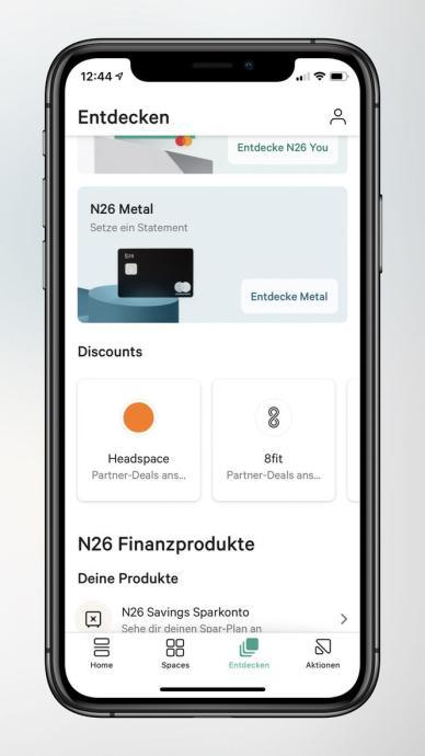 N26 Discounts Free User