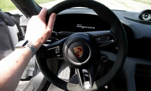 Porsche Taycan Turbo S Inteieur