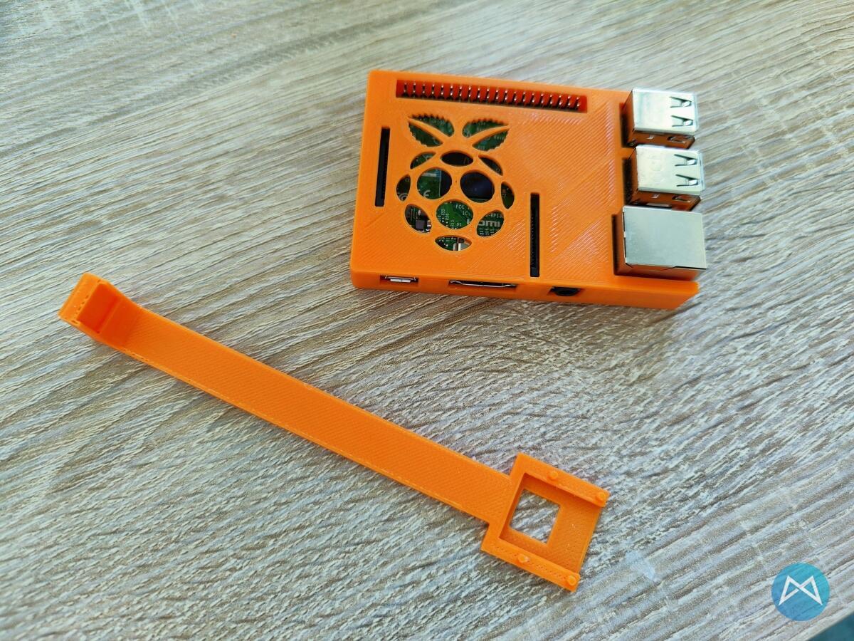 Raspberry Pi Kamera Halterung Rj45