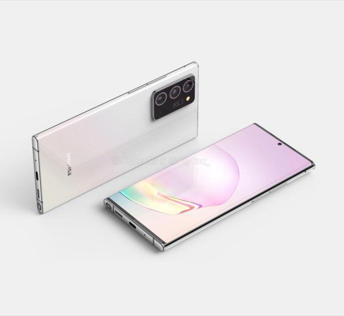 Samsung Galaxy Note 20 Plus Render2