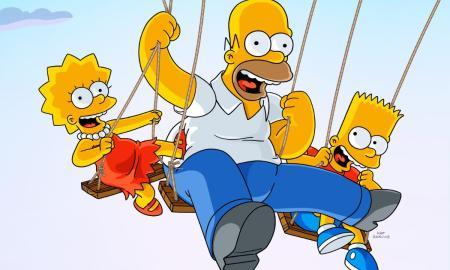 Simpsons Disney Header