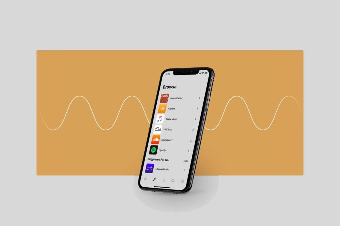 Sonos App Header