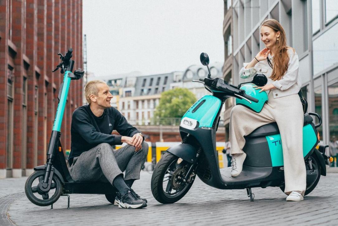 Tier E Moped Berlin
