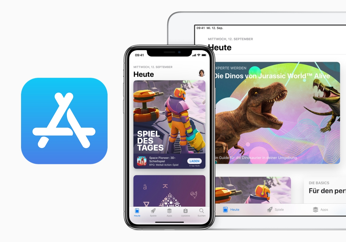 App Store Apple Header
