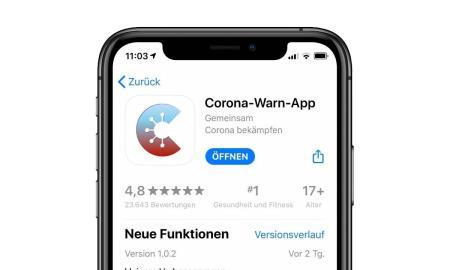 Corona Warn App Header