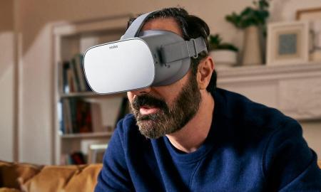 Oculus Go Vr Headset Header