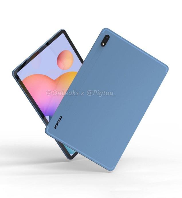 Samsung Galaxy Tab S7 Render1