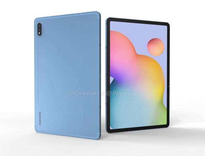 Samsung Galaxy Tab S7 Render2