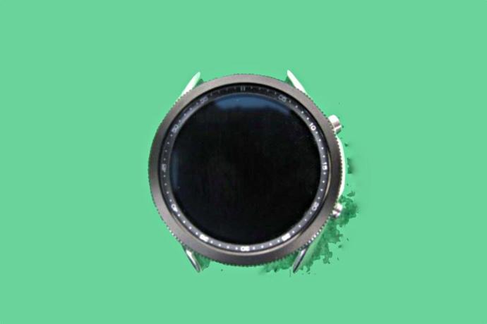 Samsung Galaxy Watch 3 Leak Front