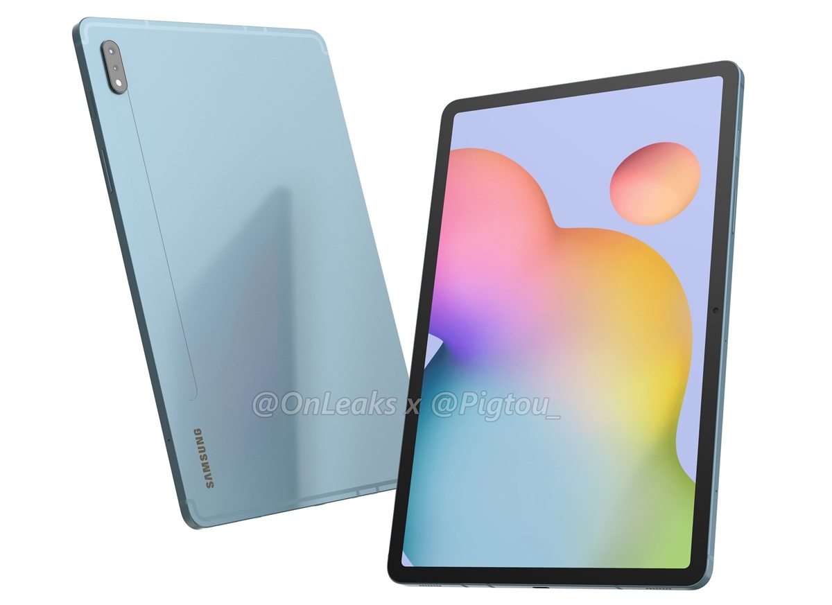 Samsung Galaxy Tab S7 Render 1