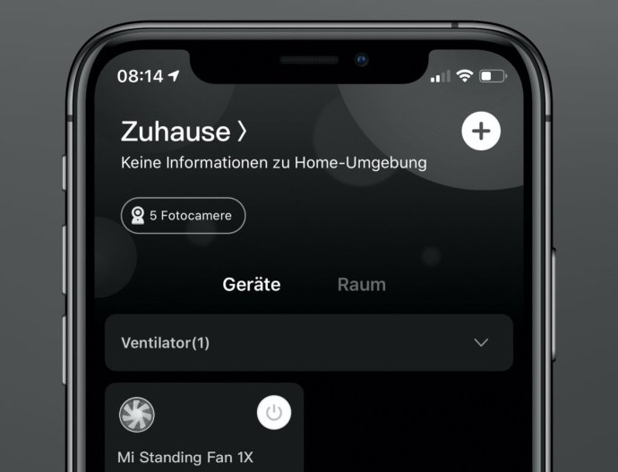 Xiaomi Home Dark Mode