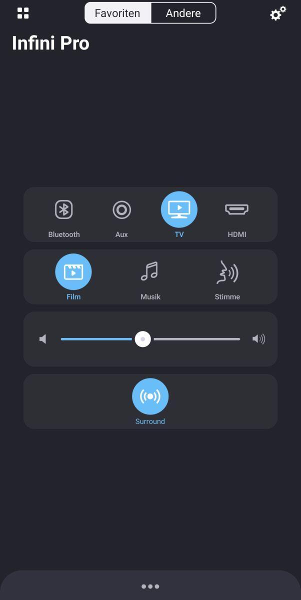 Anker Infini Pro Soundbar App