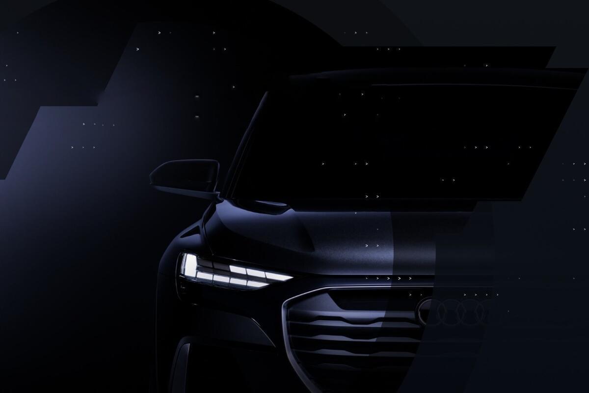 Audi Q4 Etron Teaser