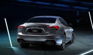 Maserati Ghibli Back