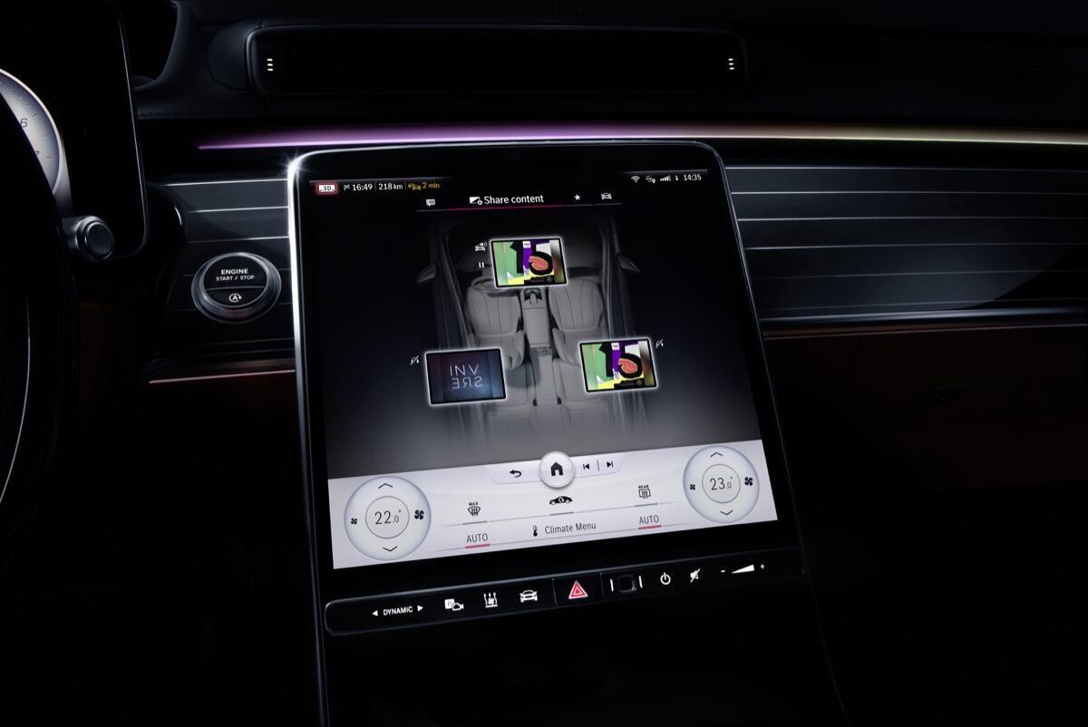 """Meet The S Class Digital: """"my Mbux"""" (mercedes Benz User Experience): Unterwegs Daheim – Luxuriös Und Digital Meet The S Class Digital: """"my Mbux"""" (mercedes Benz User Experience): At Home On The Road – Luxurious And Digital"""