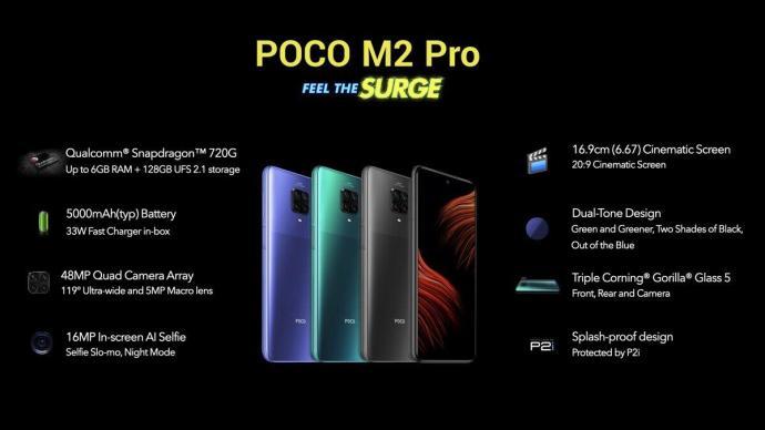 Poco M2 Pro Specs