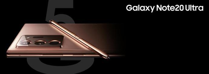 Samsung Galaxy Note 20 Ultra Presse