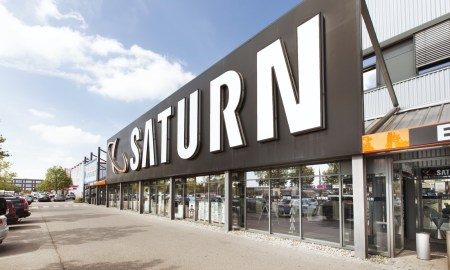 Saturn Aussenfassade