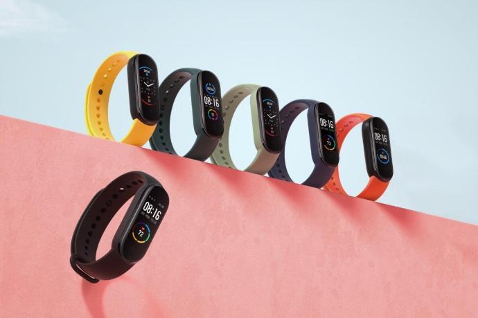 Xiaomi Mi Smart Band 5 Farben