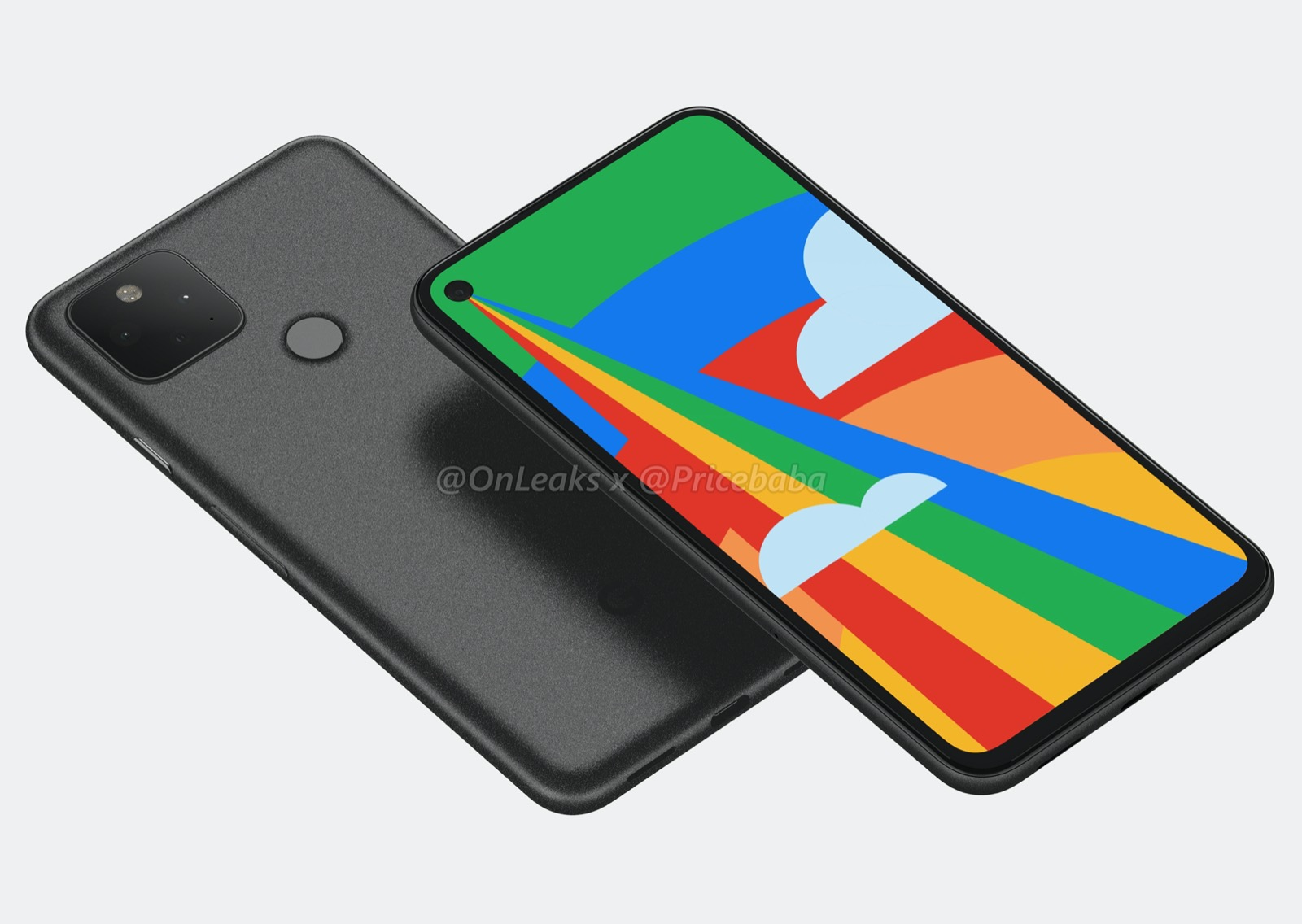 Google Pixel 5 Render 3