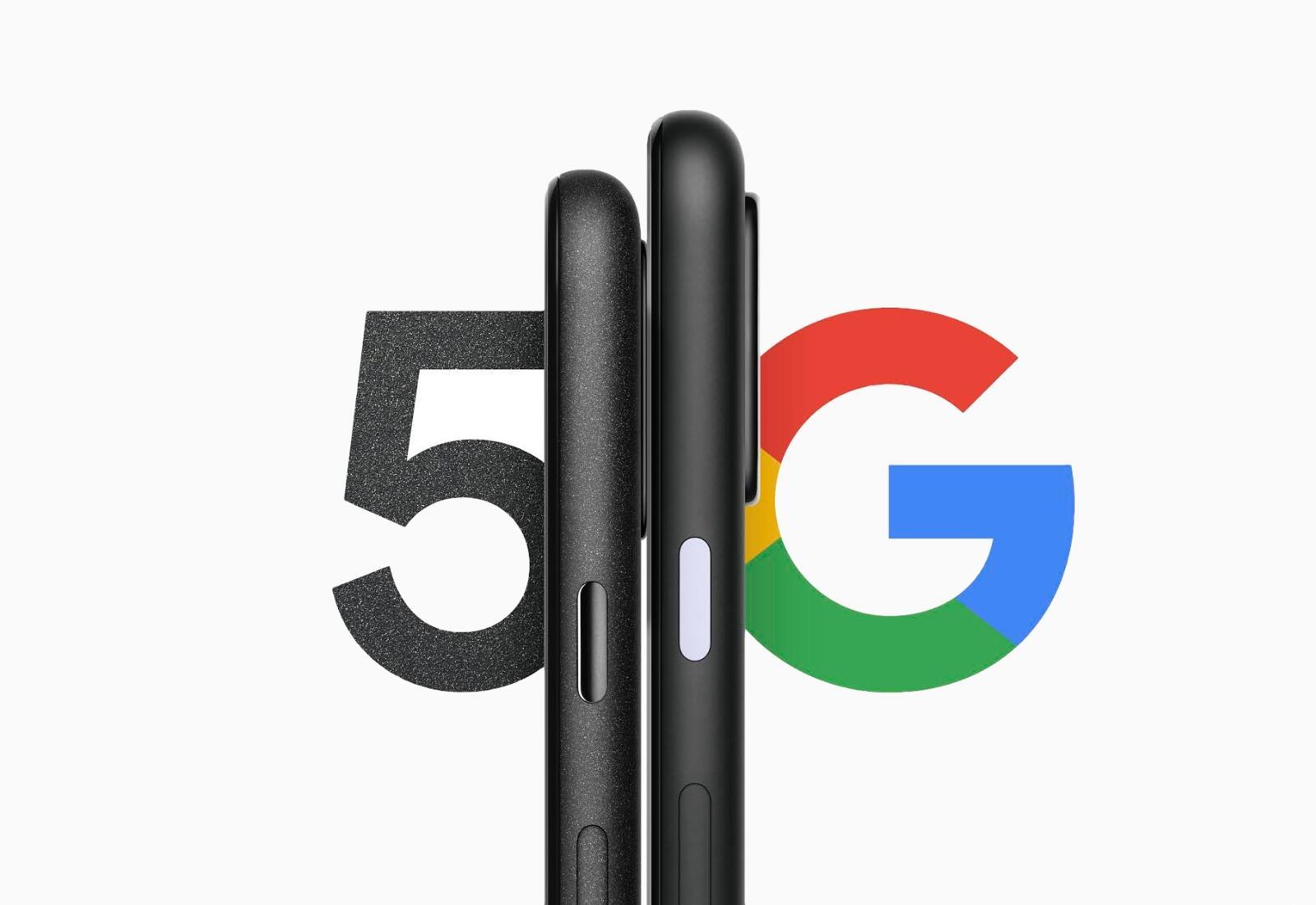 Google Pixel 5 Teaser Header