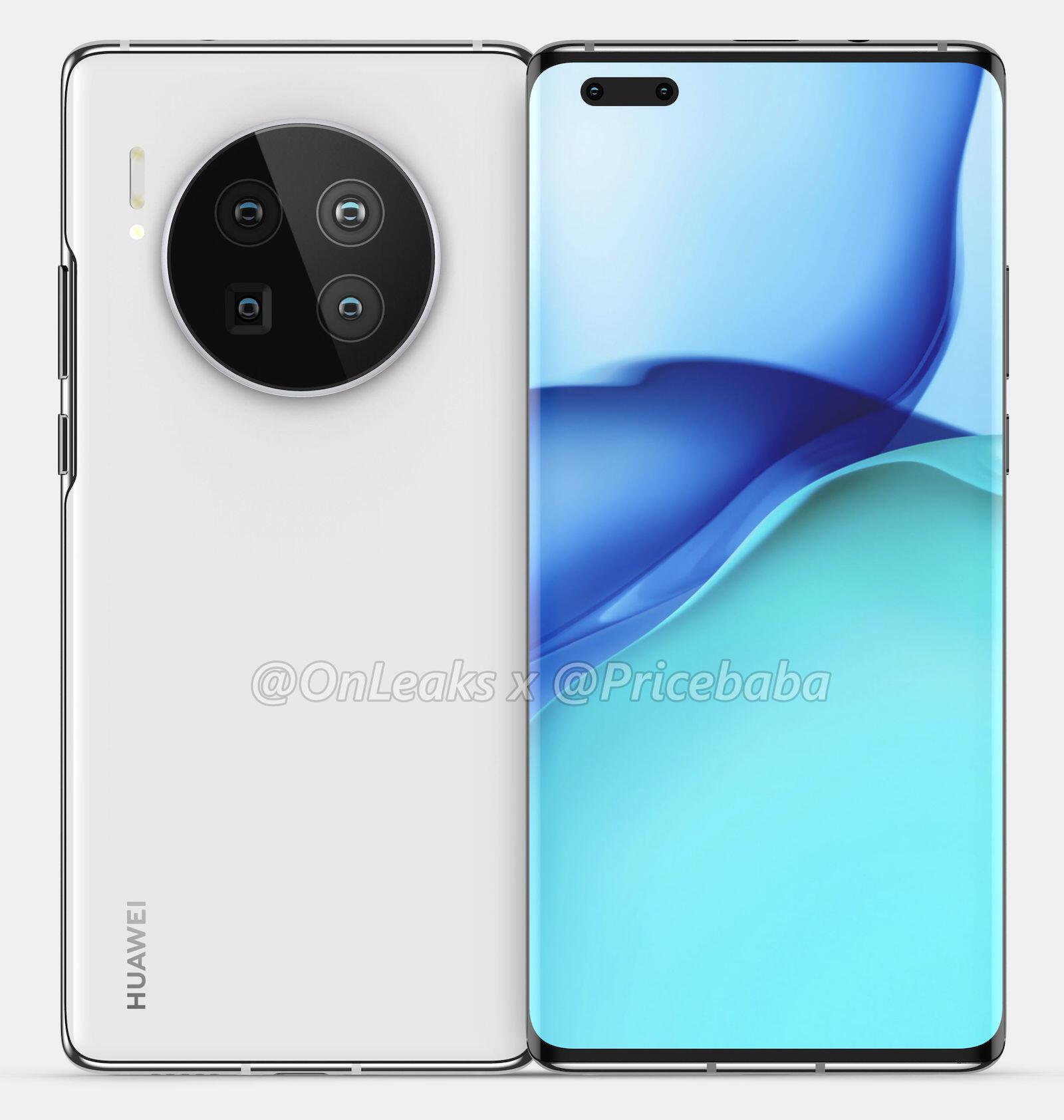 Huawei Mate 40 Pro Render