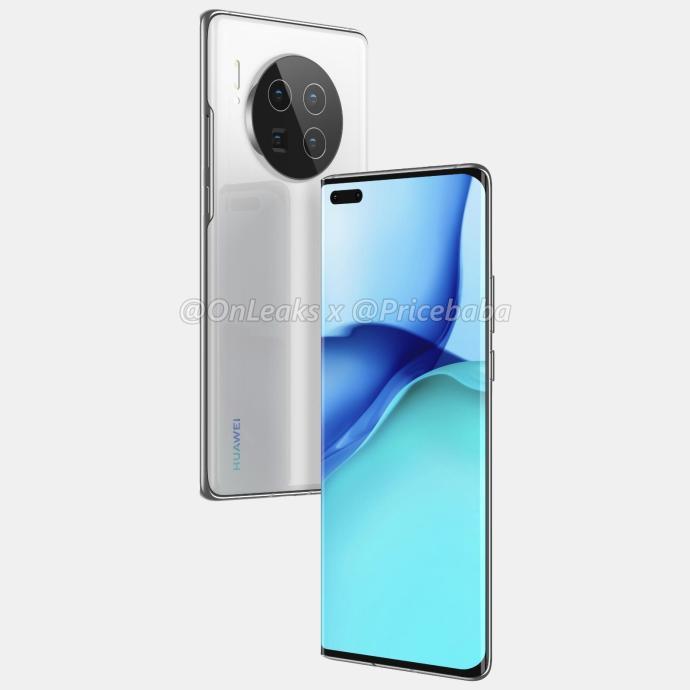 Huawei Mate 40 Pro Render2