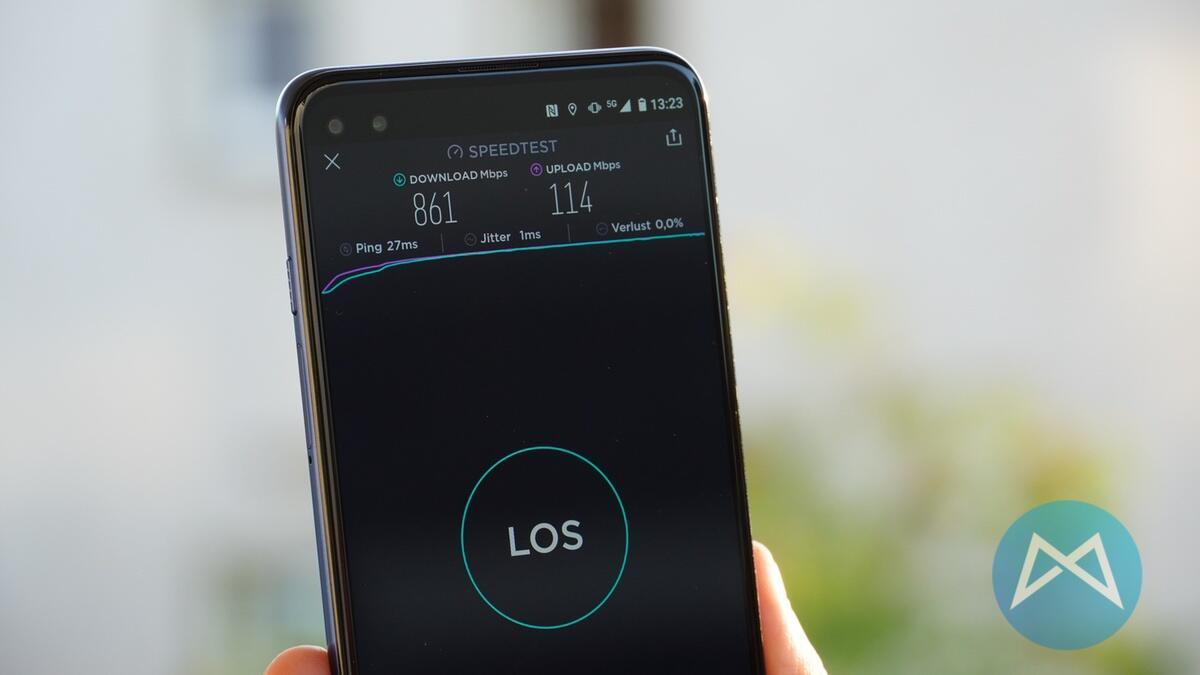 Motorola Moto G 5g Speedtest