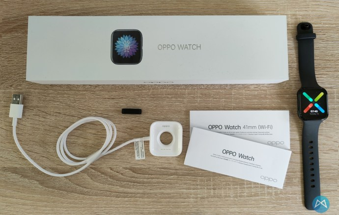 Oppo Watch 41mm Lieferumfang