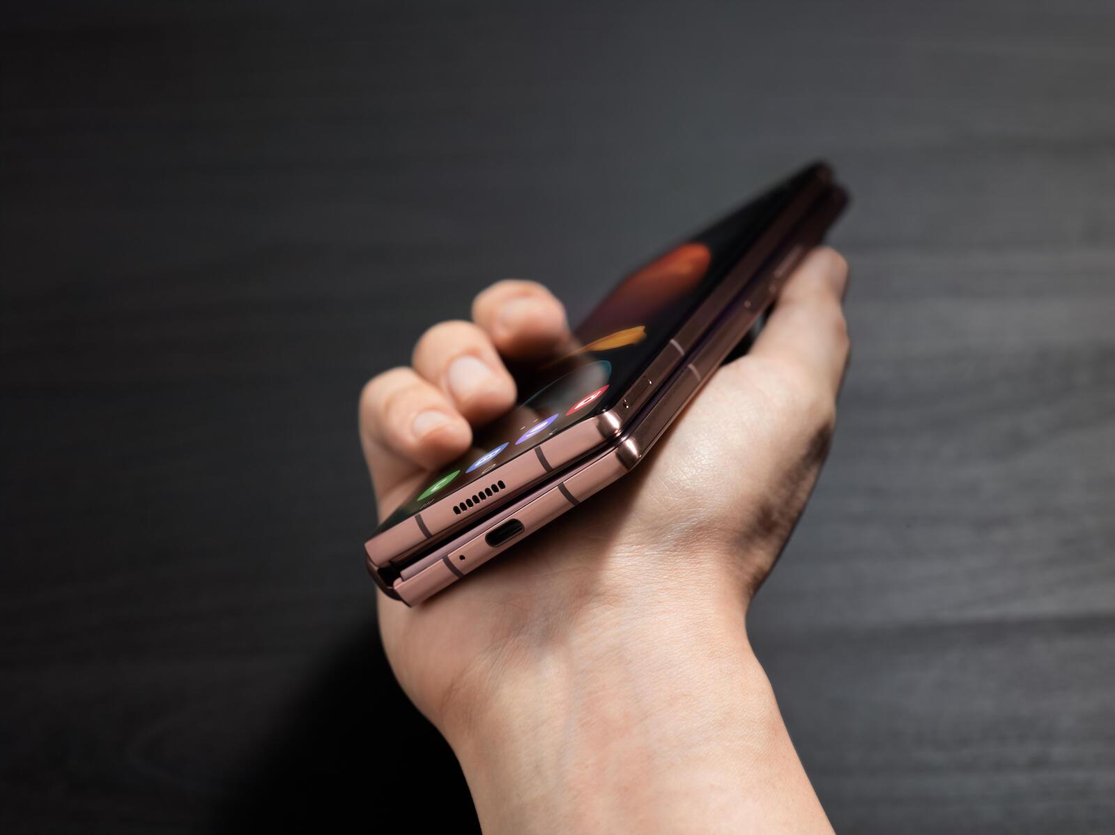 Samsung Galaxy Z Fold 2 Bronze3