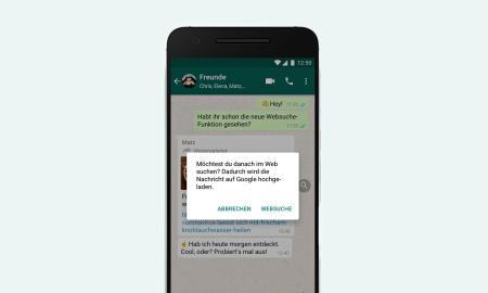 Whatsapp Websuche Header