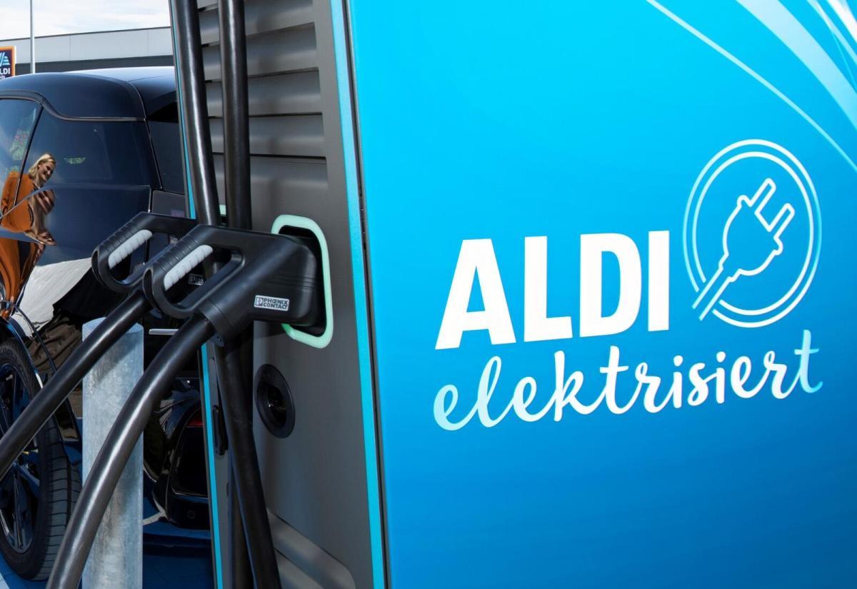 Aldi Elektro Ladestation