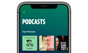 Amazon Music Podcasts Header