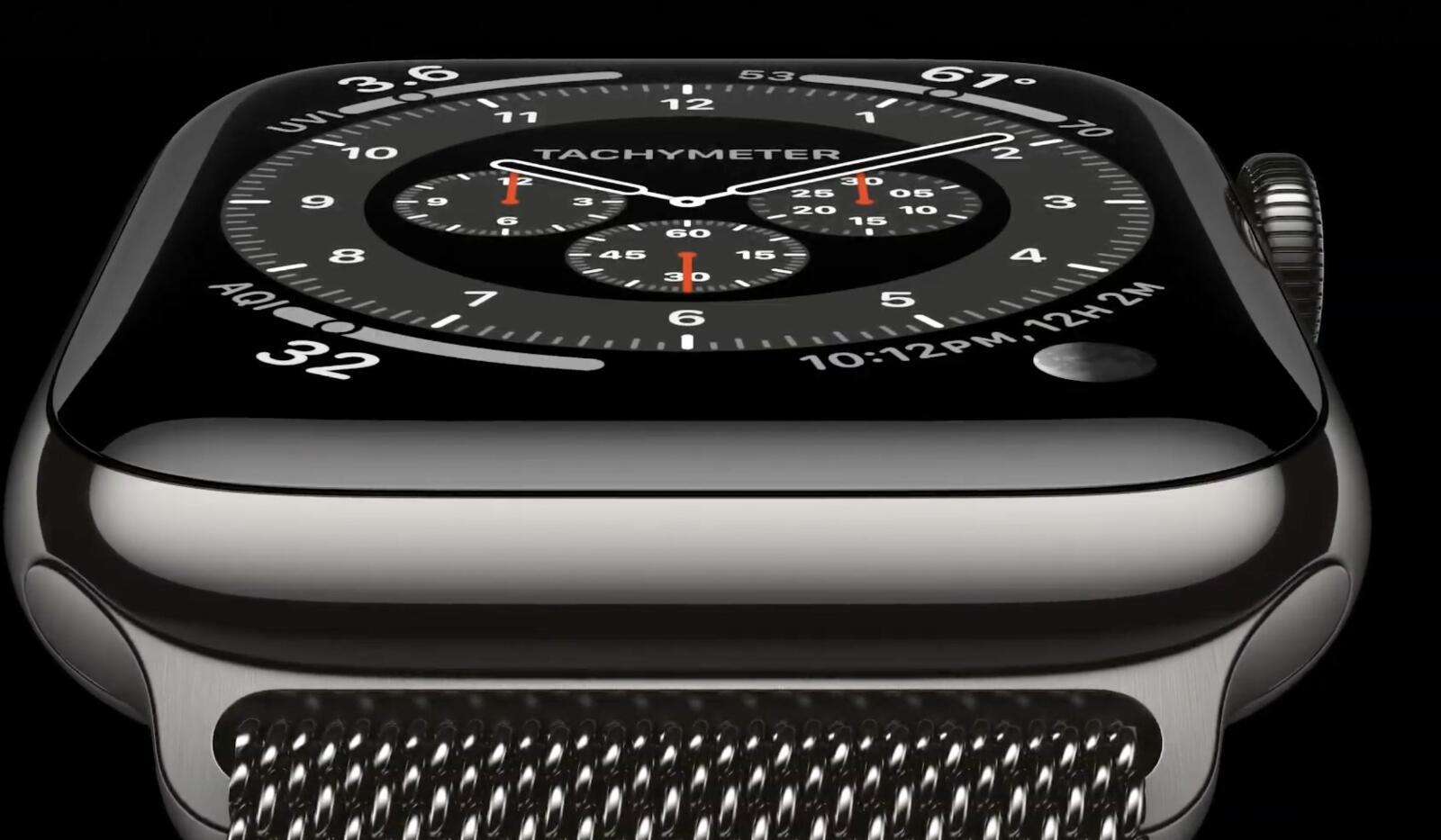 Apple Watch Series 6 Grau