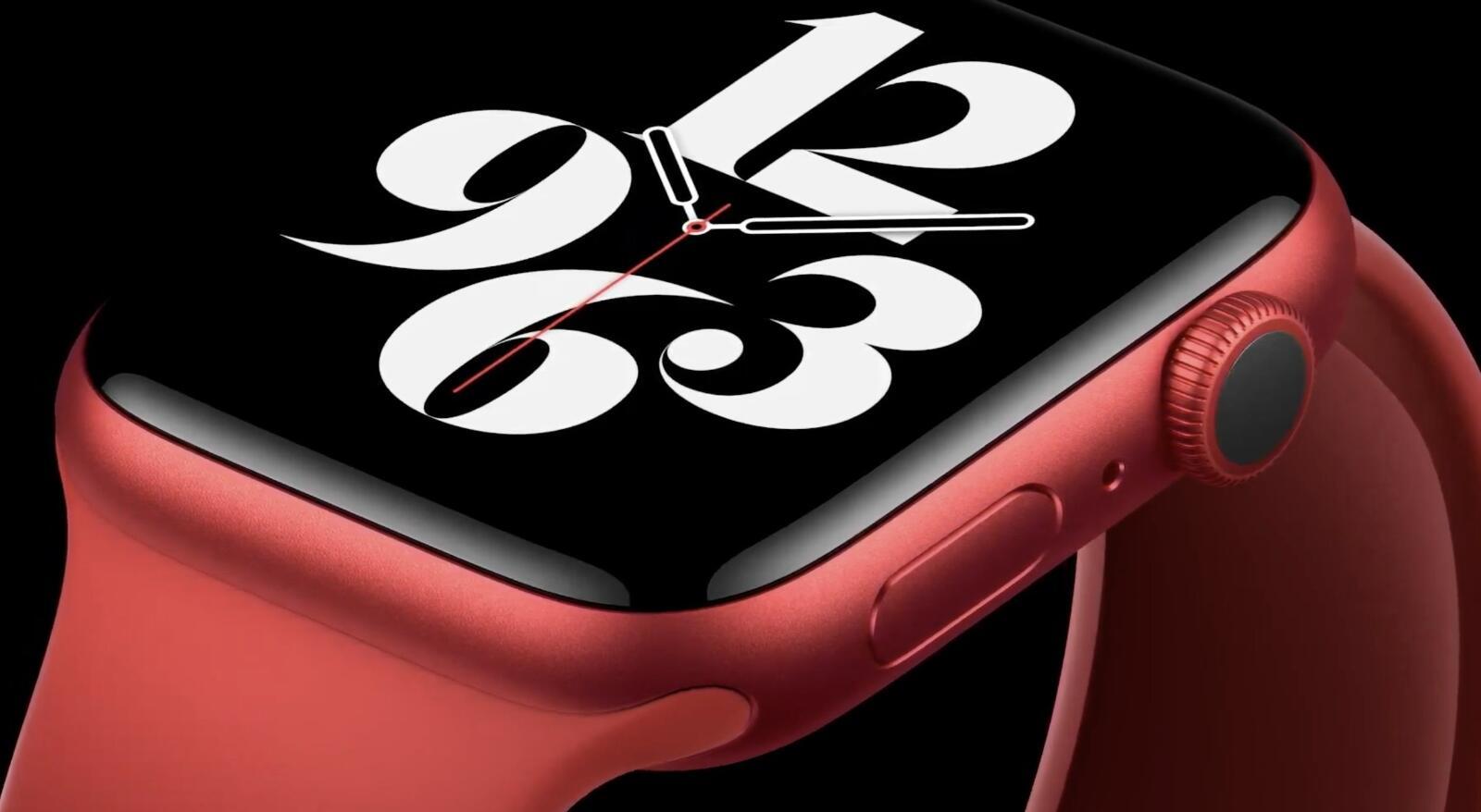 Apple Watch Series 6 Rot