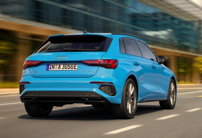 Audi A3 Sportback Hybrid Back