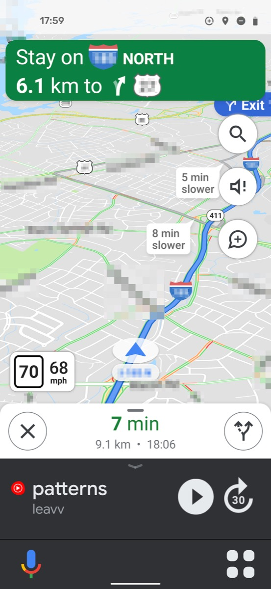 Google Maps Screen1