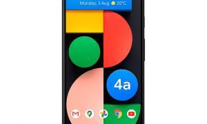 Google Pixel 4a 5g Front