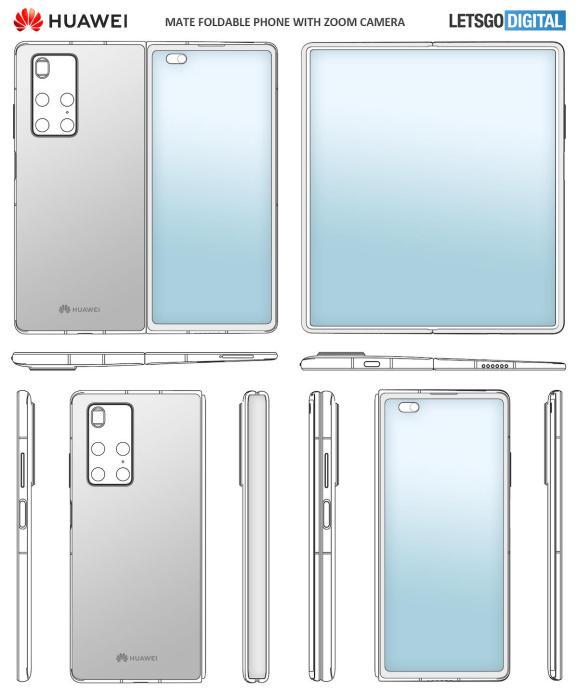 Huawei Mate X2 Patent