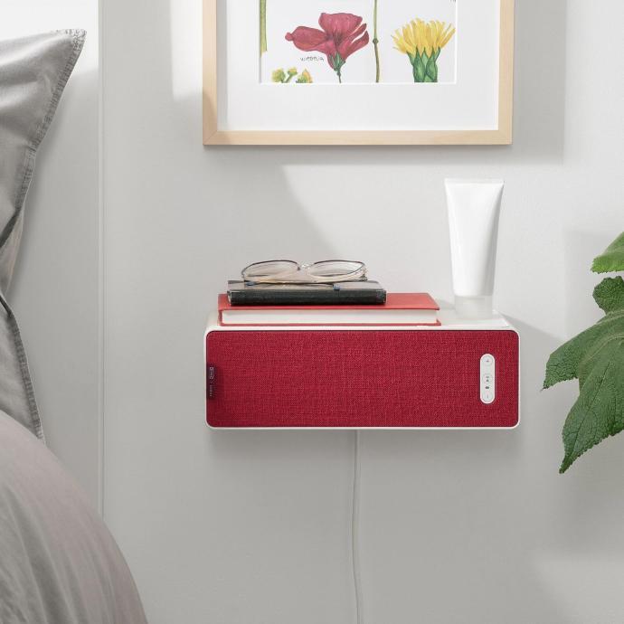 Ikea Symfonisk Regal Rot