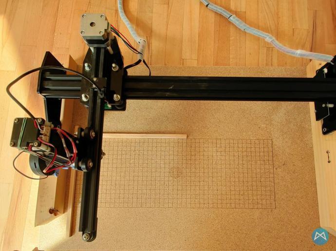 Lasermaster 15w Ortur Gitter
