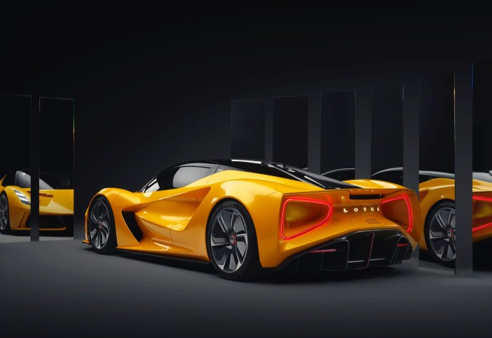 Lotus Evija Back
