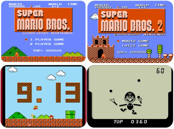 Mario 35 Handheld Game And Watch