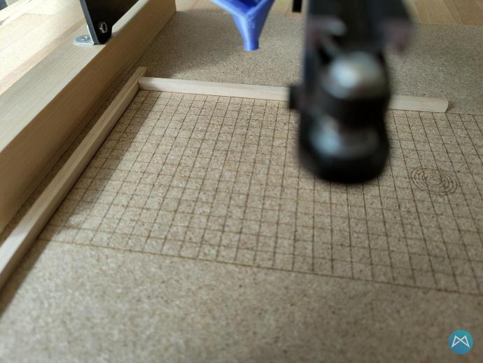 Ortur Lasermaster 15w Gitter Anschlagpunkt
