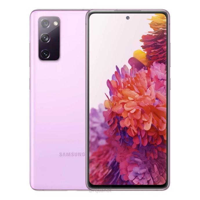 Samsung Galaxy S20 Fe Leak Lavendel