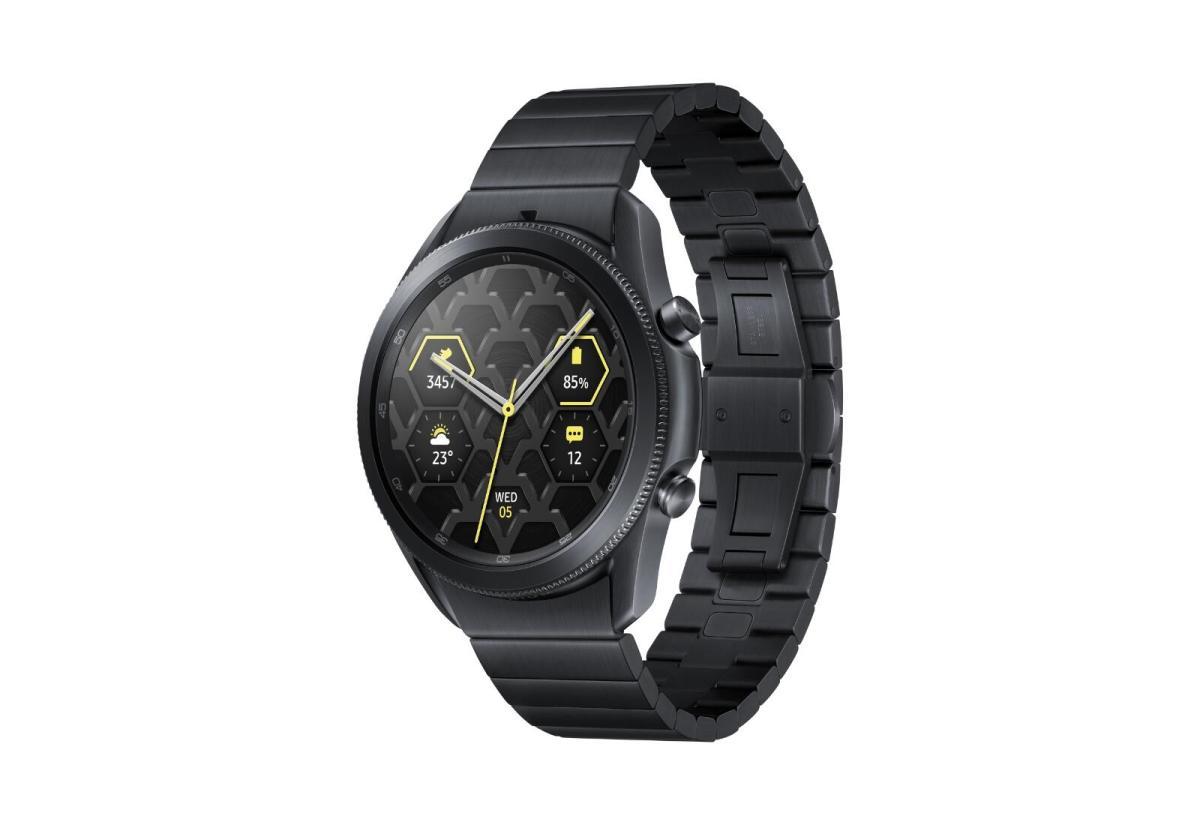 Samsung Galaxy Watch 3 Titan Header