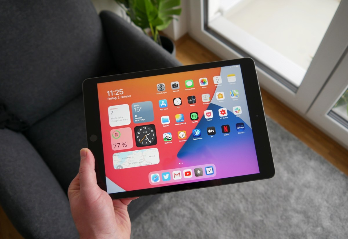 Apple Ipad 2020 Quer