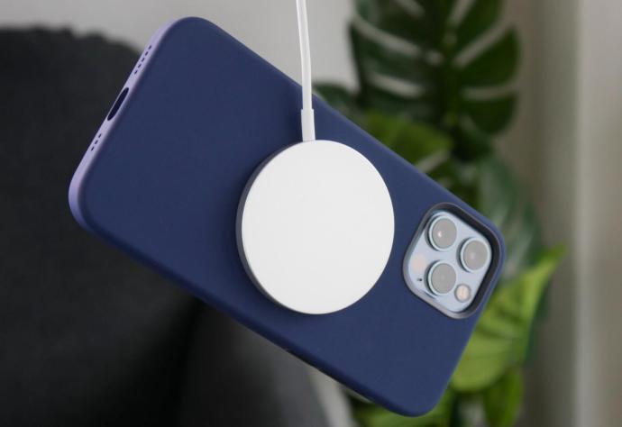 Apple Iphone 12 Pro Silikon Case Magsafe