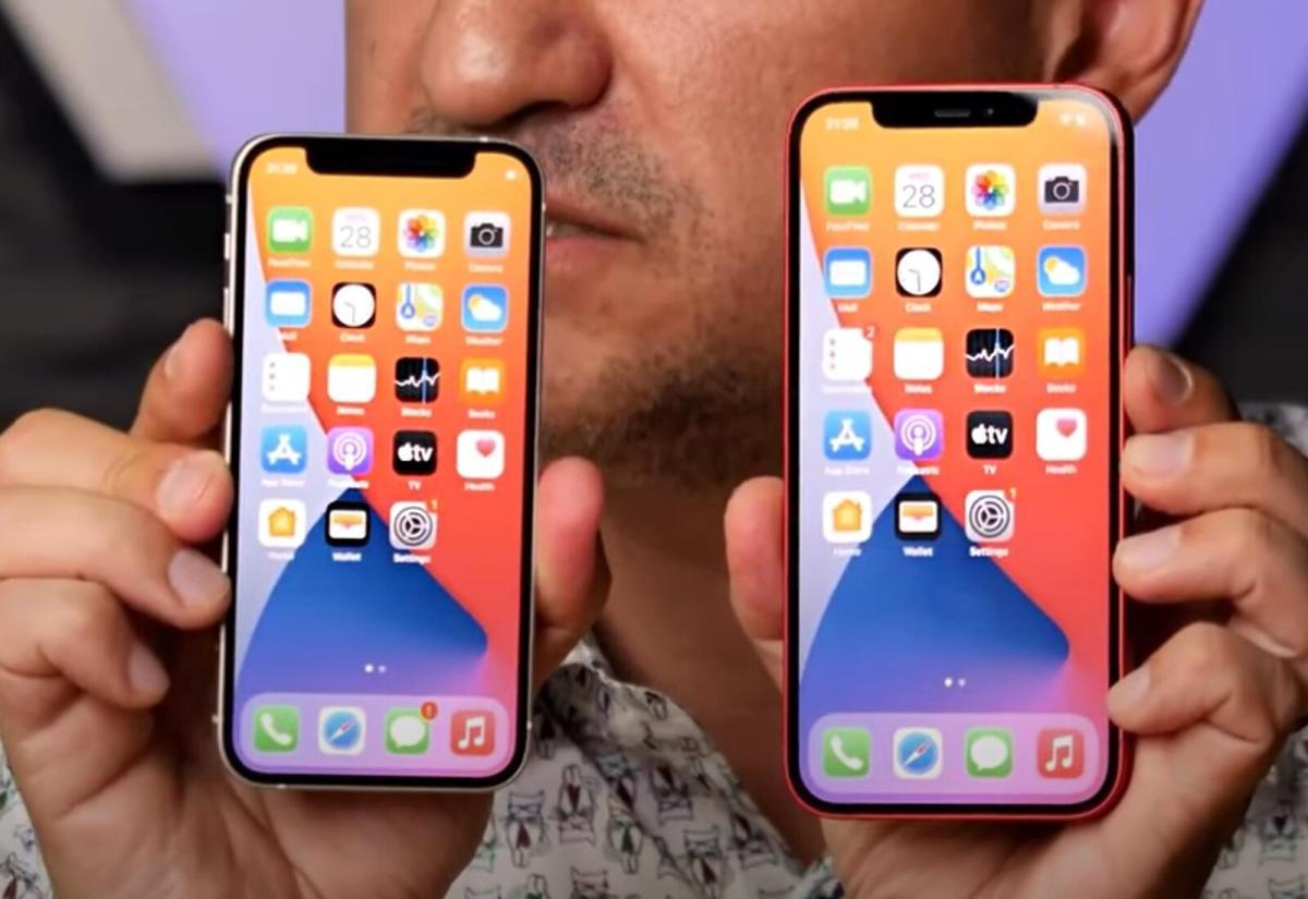 Apple Iphone 12 Vs 12 Mini