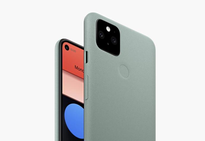 Google Pixel 5 Green Header